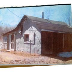 Caption: Lavina's family house