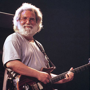 Caption: Jerry Garcia