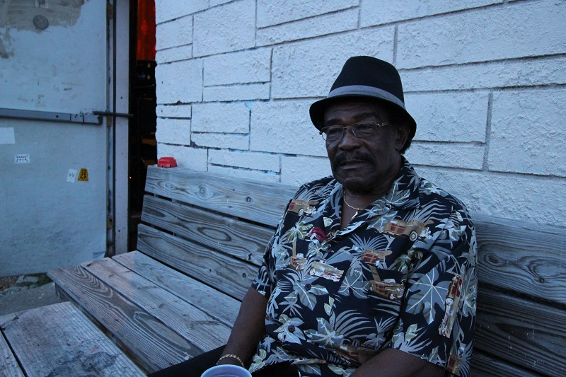 Caption: Austin musician Sly Campbell, Credit: Joe Hollowy