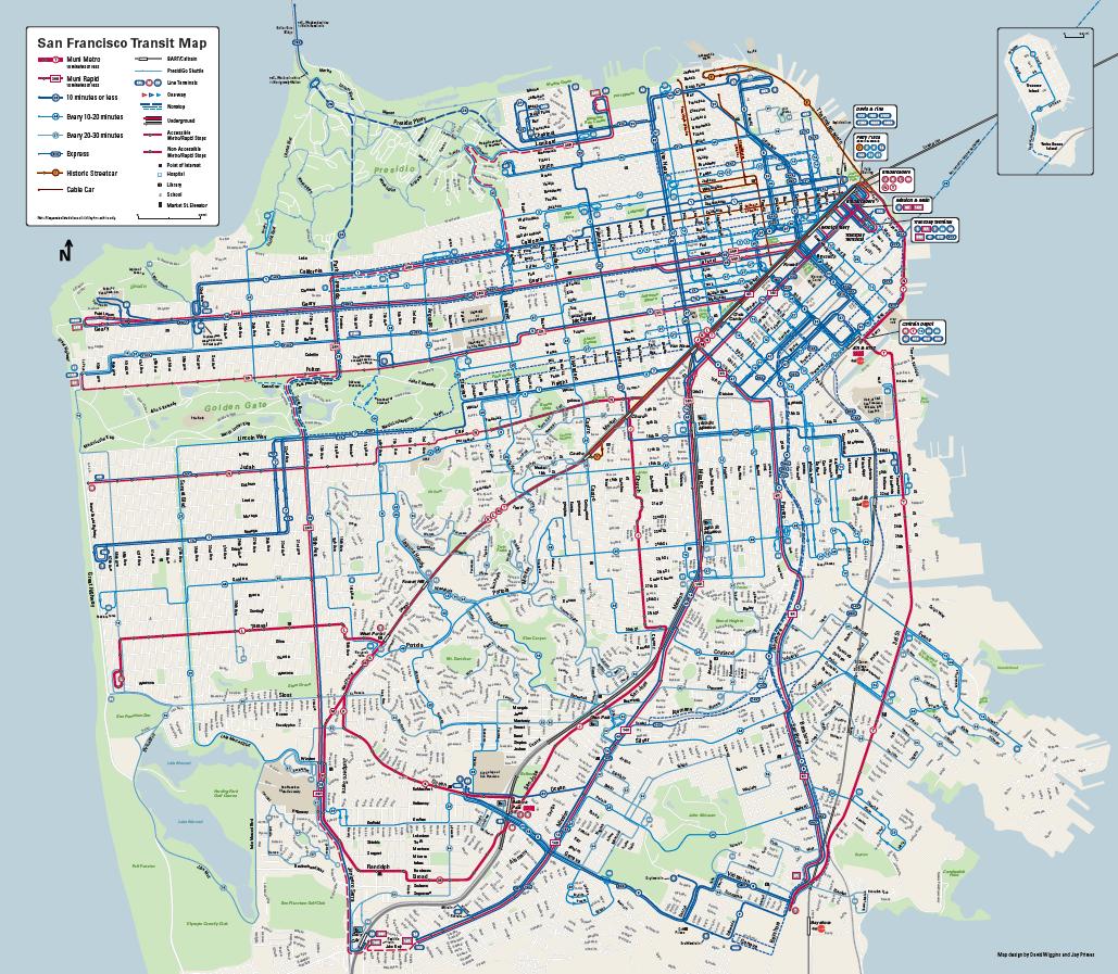 PRX » Piece » Google Maps vs. Muni maps: what the bus map makeover