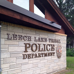 Caption: Leech Lake Tribal Police Department