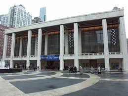 Caption: David H. Koch Theater, Lincoln Center, NYC