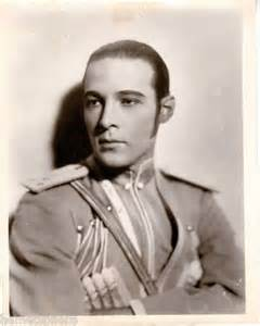 Caption: Rudolph Valentino