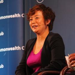 Caption: Stella Li, Senior Vice President, BYD Company Ltd., Credit: Ellen Cohan
