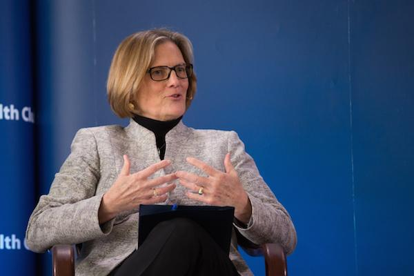 Caption: Kathryn Sullivan, Administrator, National Oceanic and Atmospheric Administration, Credit: Rikki Ward