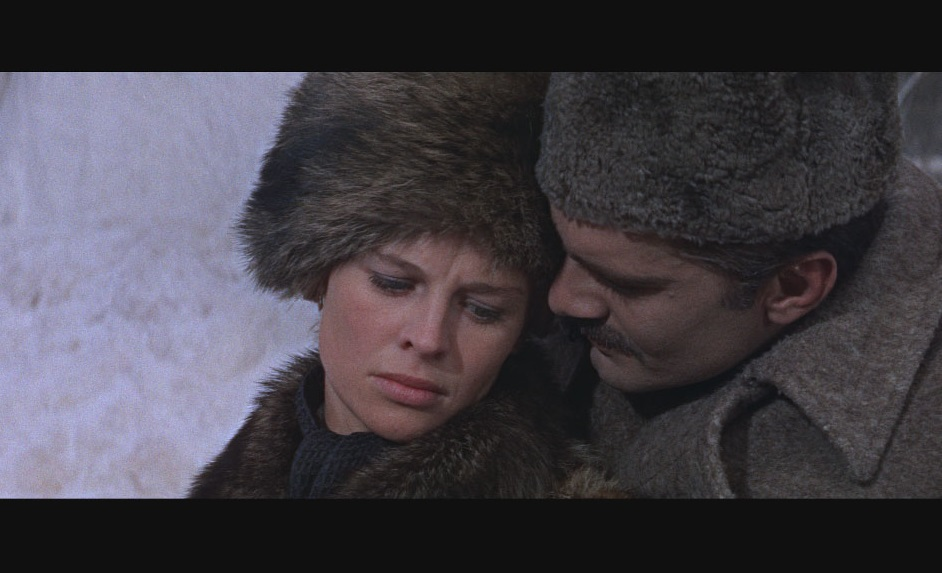 Caption: Julie Christie and Omar Sharif in 1965's 'Doctor Zhivago'
