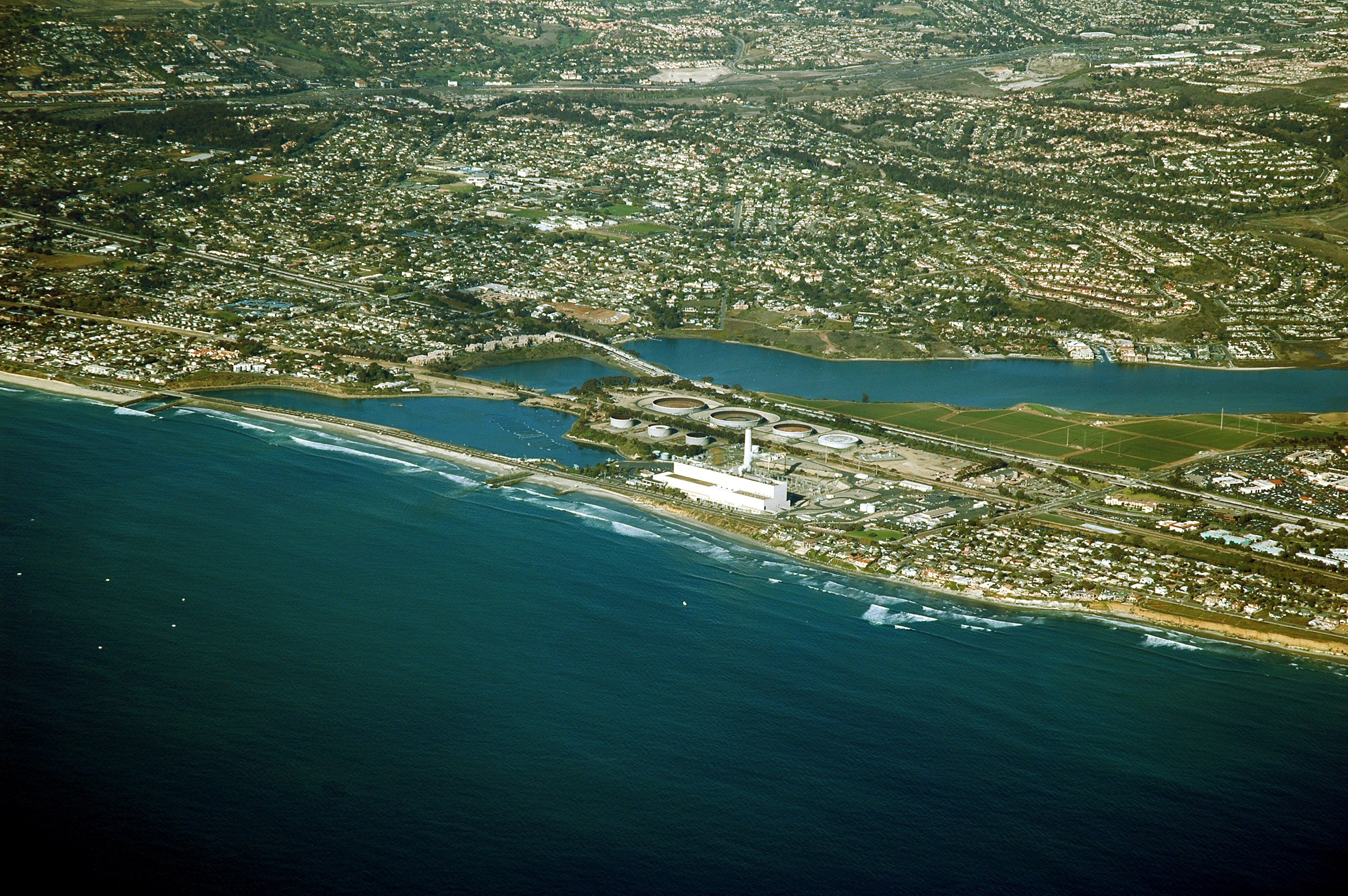 Caption: Image of the Encina Power Station, future site of the Carlsbad Project, a 6 acre desalination plant--the largest in the United States. , Credit: Courtesy of Poseidon Water