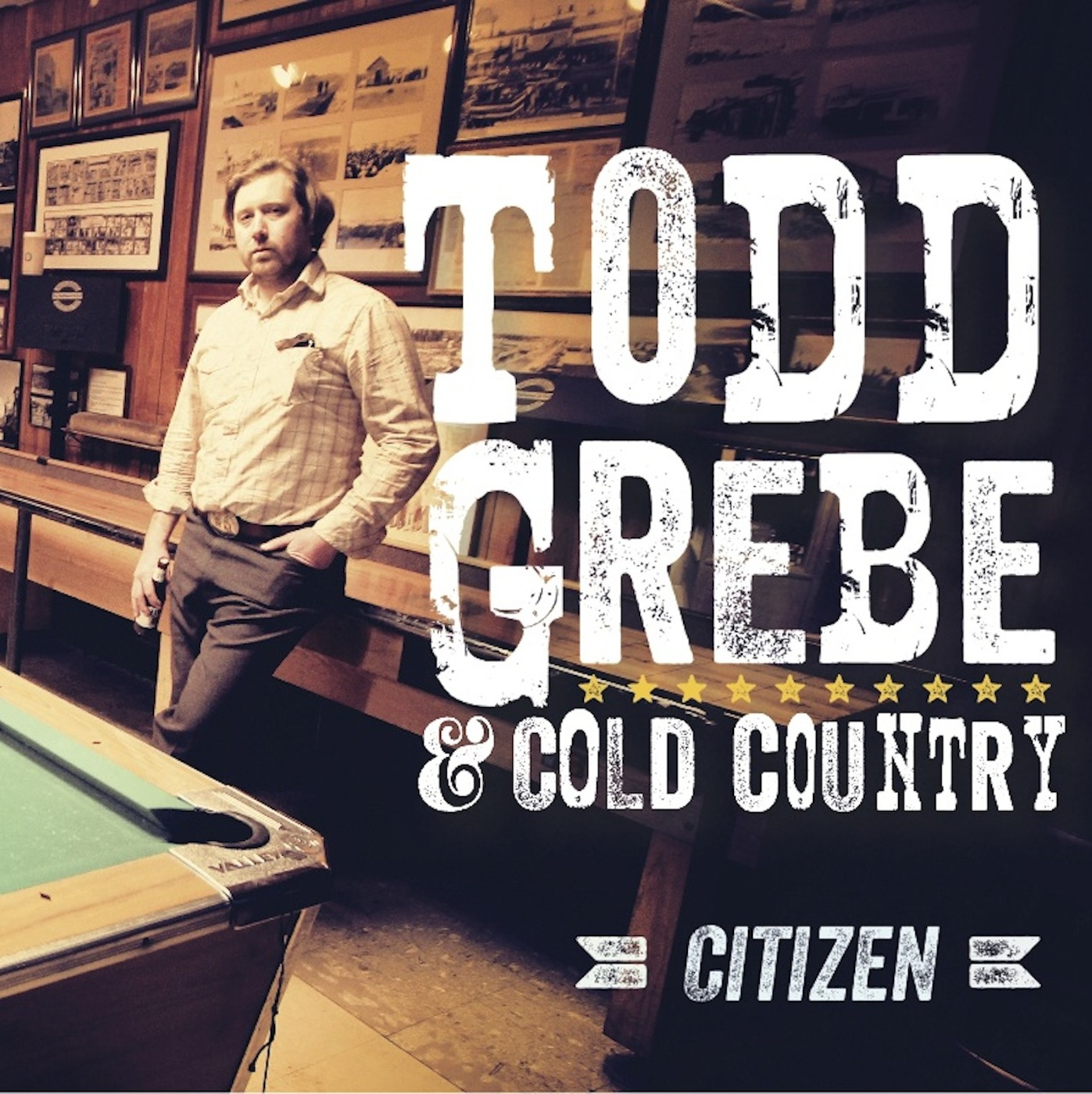 Caption: Citizen by Todd Grebe & Cold Country, Credit: Official Album Cover