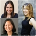 Caption: Shaan Kandawalla, PlayDate Digital; Melody McCloskey, StyleSeat; Amy Sheng, CellScope
