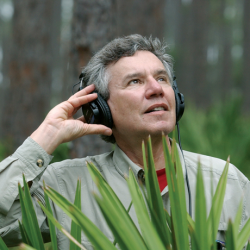 Caption: Soundscape Artist Bernie Krause
