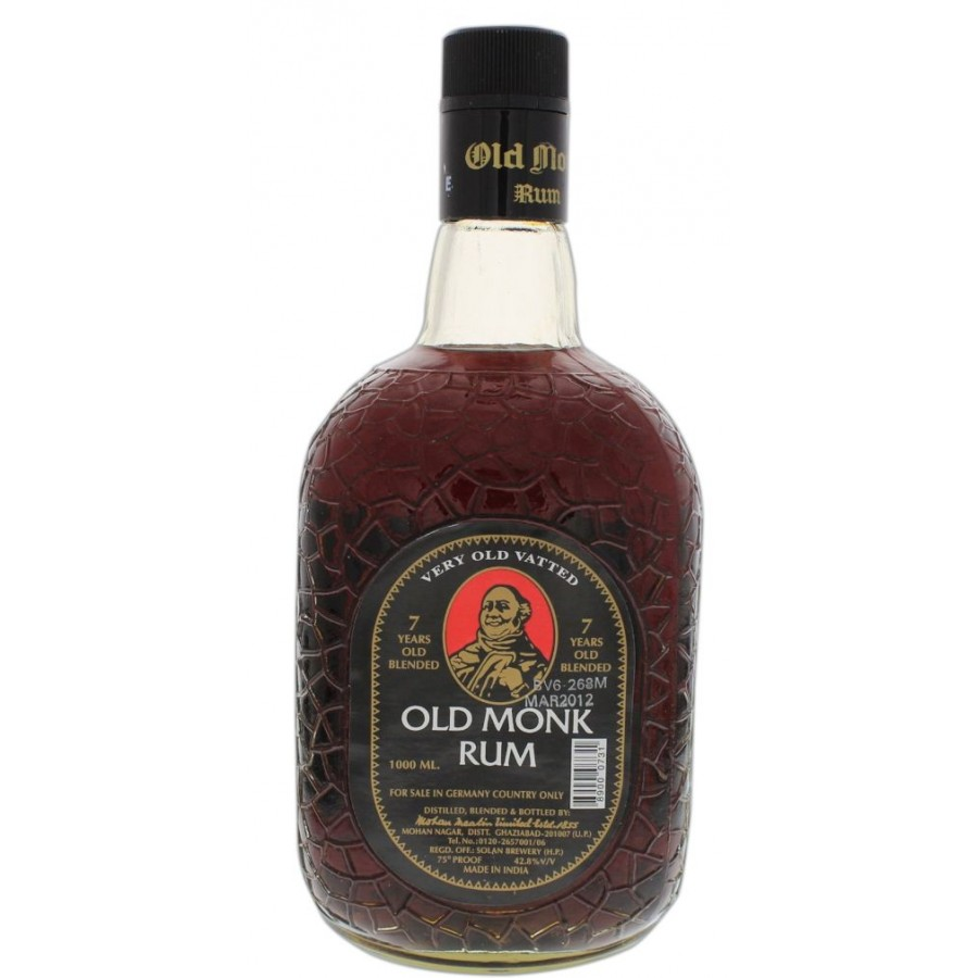 Caption: Old Monk Rum