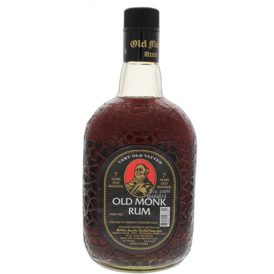 Caption: Old Monk Rum
