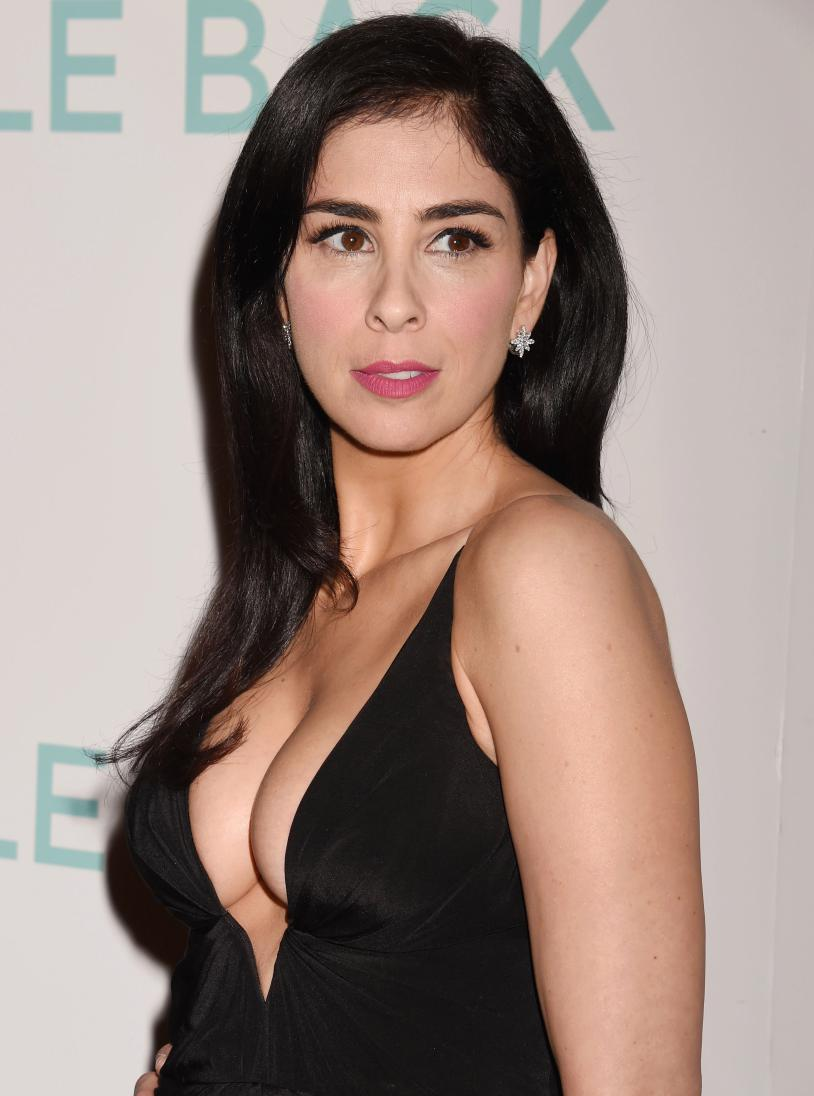 Caption: Sarah Silverman