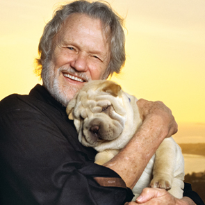 Caption: Kris Kristofferson