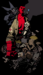 Caption: Mike Mignola's Hellboy