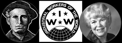 Caption: Joe Hill, IWW, Linda Allen