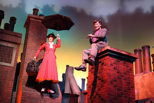 Caption: Mary Poppins and Bert in the Great Movie Ride at Disney's Hollywood Studios, Credit: Credit Sam Howzit/Flickr