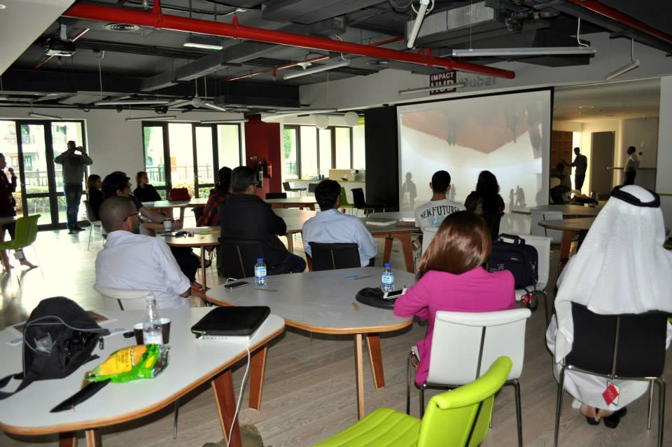 Caption: Impact Hub Dubai