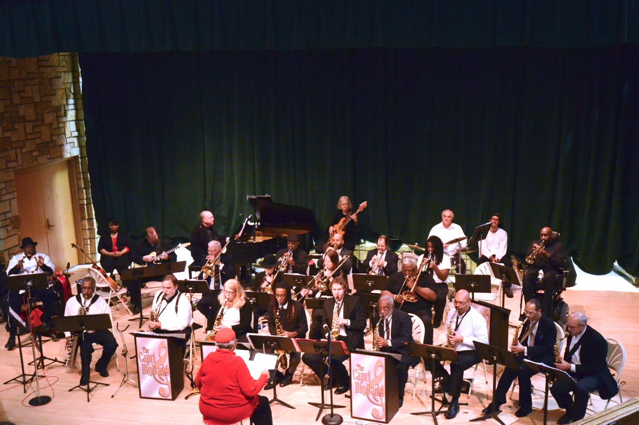Caption: Capri Big Band, Credit: Brianna Johnson