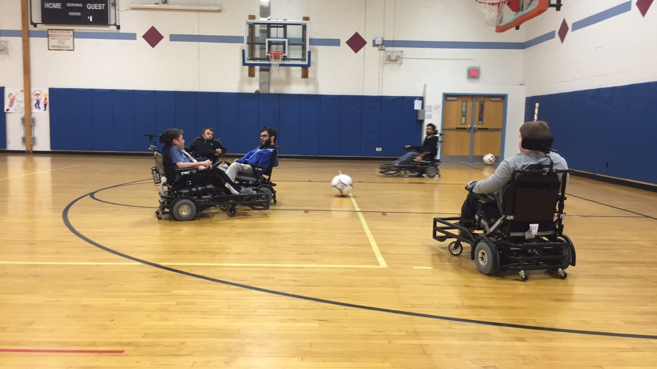 Caption: Peyton Sefick plays weekly on the local CNY United Power Soccer Team for extra practice for the 2017 World Cup, Credit: © 2015 Elissa Candiotti