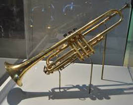 Caption: Louis Armstrong's Trumpet