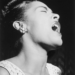 Caption: Billie Holiday