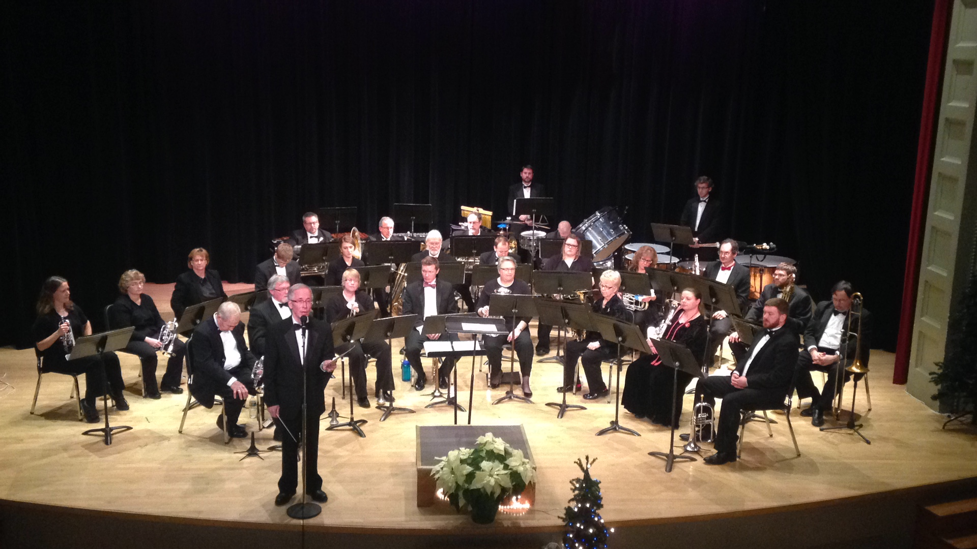 Caption: The Winona Brass Band, Credit: KQAL