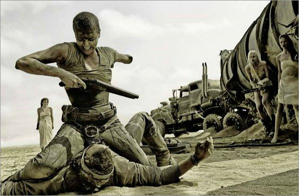 Caption: Charlize Theron in 'Mad Max: Fury Road'