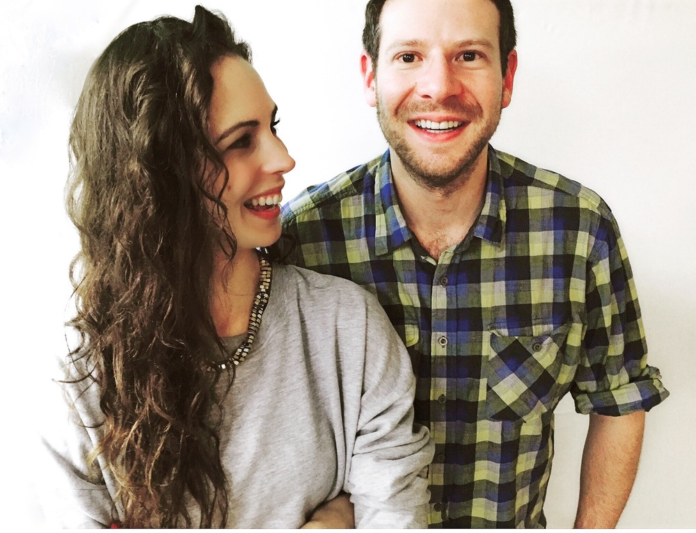 Caption: Hayley Quinn, with Olly Mann