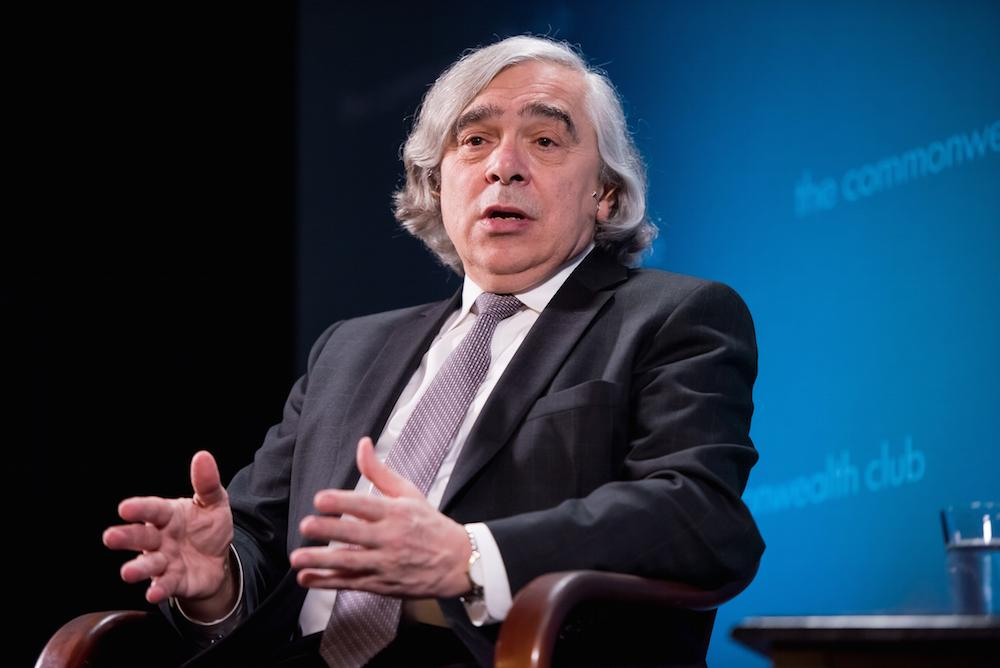 Caption: U.S. Energy Secretary Ernest Moniz, Credit: Ed Ritger