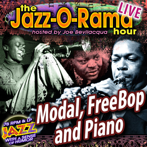 Caption: Modal, Free Bop, Piano Jazz Hour!, Credit: Lorie Kellogg