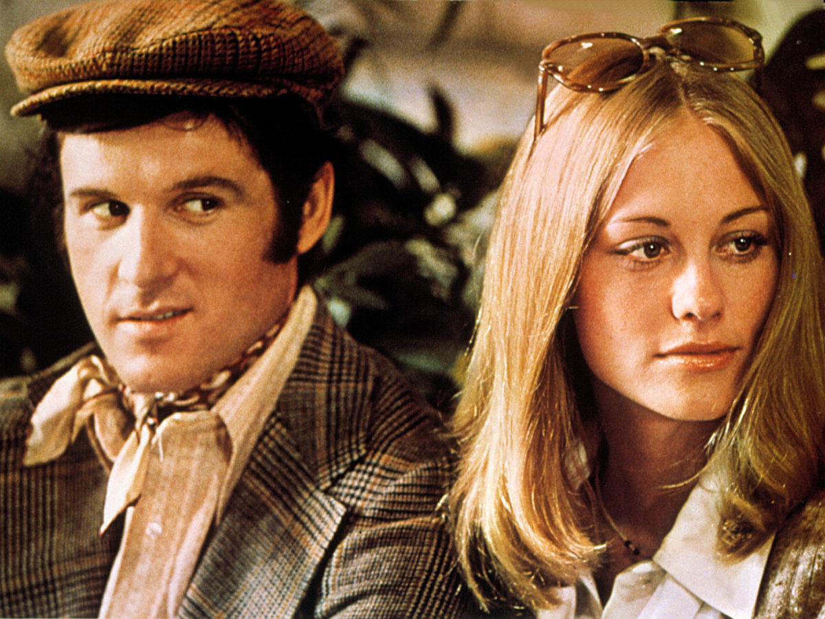 Caption: Charles Grodin and Cybill Shepherd in Elaine May's 'The Heartbreak Kid'
