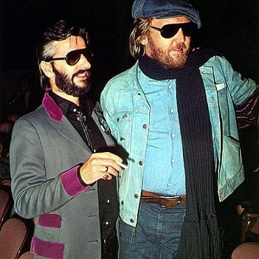 Caption: Ringo Starr & Harry Nilsson