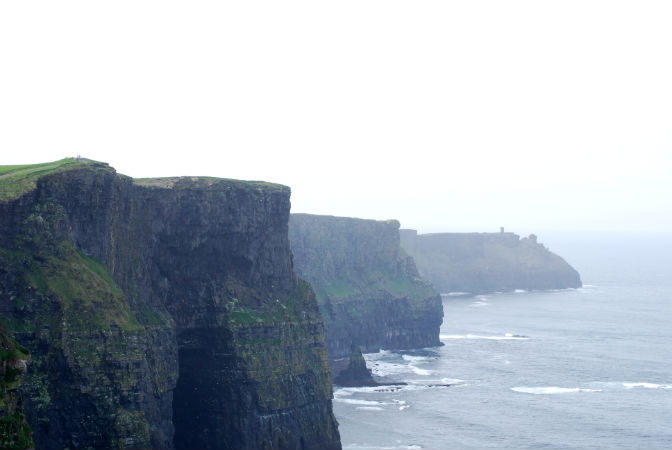 Caption: The Cliffs of Mohr, Credit: Tonya Fitzpatrick