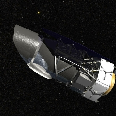 Caption: NASA's Wide Field Infrared Survey Telescope (WFIRST), Credit: NASA/GSFC/Conceptual Image Lab