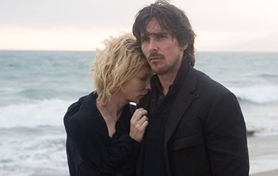 Caption: Cate Blanchett & Christian Bale in Terrence Malick's 'Knight of Cups'