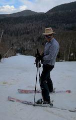 Caption: Spring Skiing in Vermont, Credit: Wendy Bridgewater