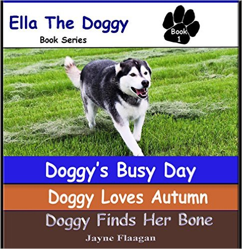 Caption: Ella the Doggy - Author Jayne Flaagen of East Grand Forks, MN