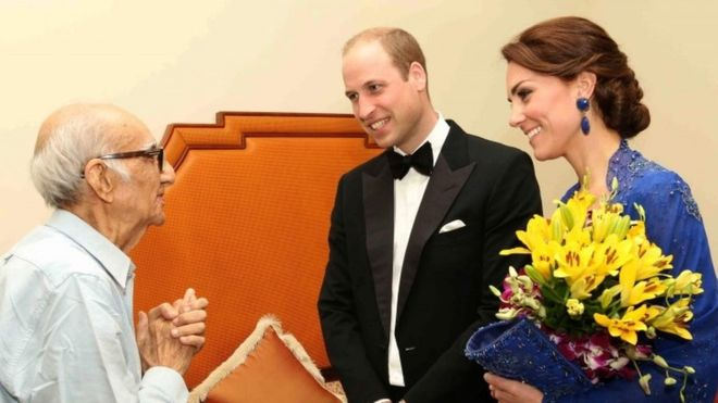 Caption: Mr. Kohinoor meets the Royals