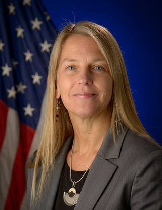 Caption: Dr. Dava Newman, Credit: NASA/Bill Ingalls