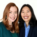 Caption: Hosts/reporters Cristina Quinn and Alison Bruzek