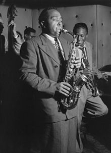 Caption: Charlie Parker, Credit: William P. Gottlieb