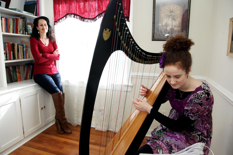 Caption: Elisheva and Amaris, Credit: Rebecca D'Angelo