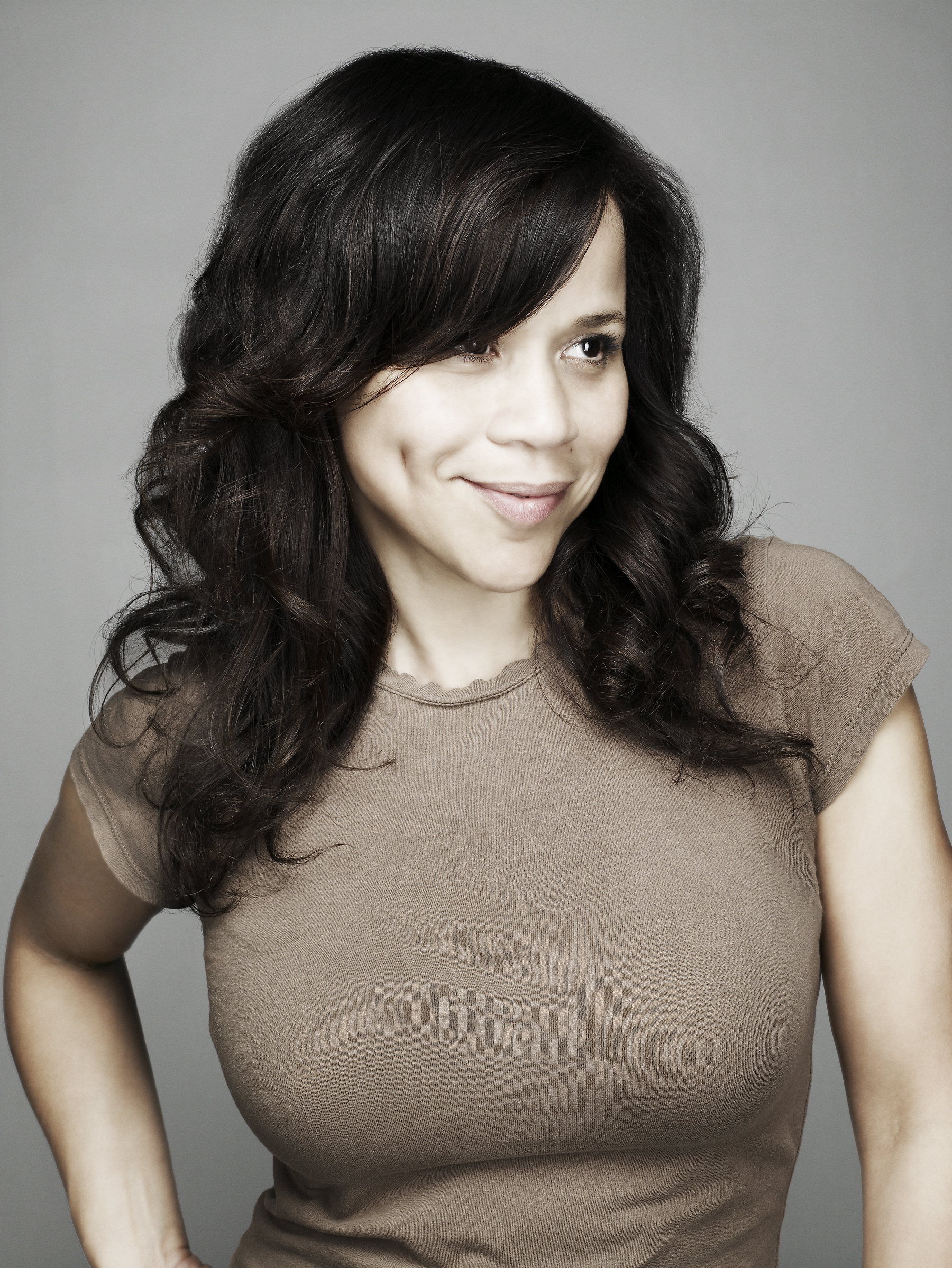 Caption: Rosie Perez