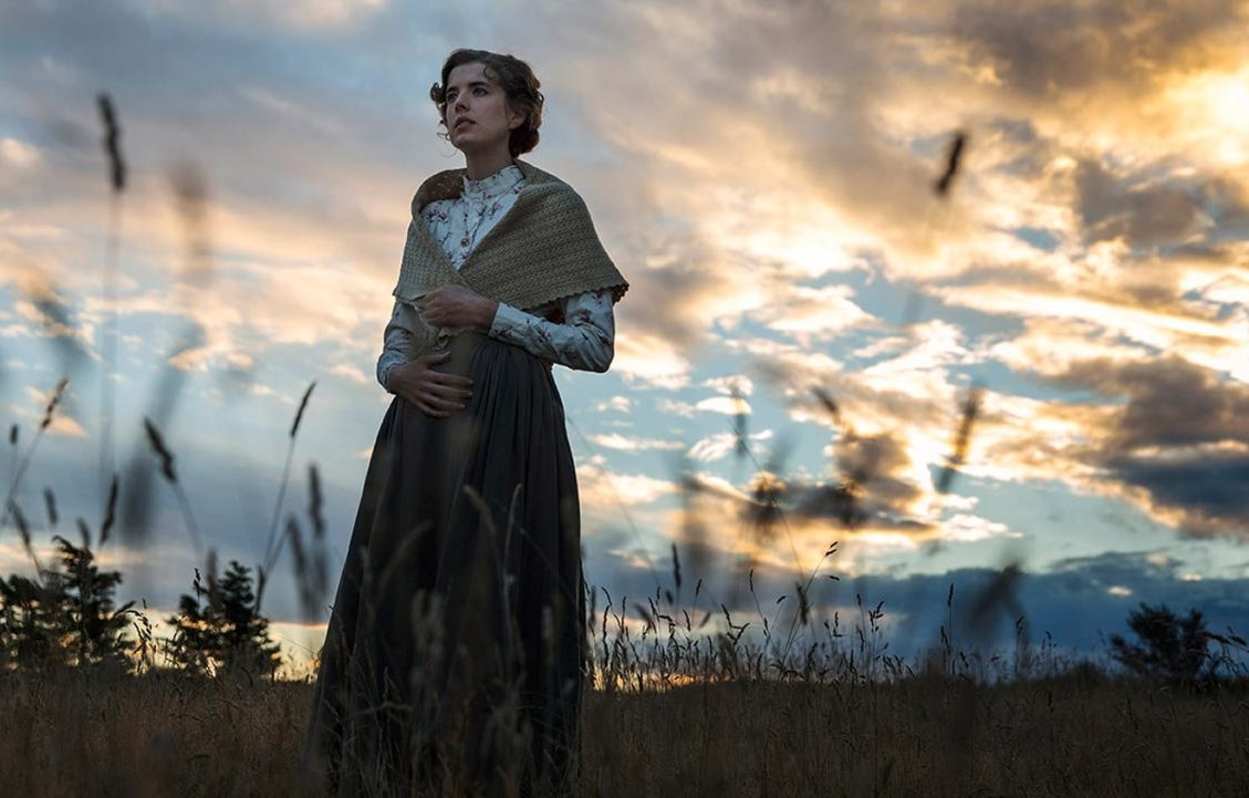 Caption: Agyness Deyn in Terence Davies' critically acclaimed 'Sunset Song'