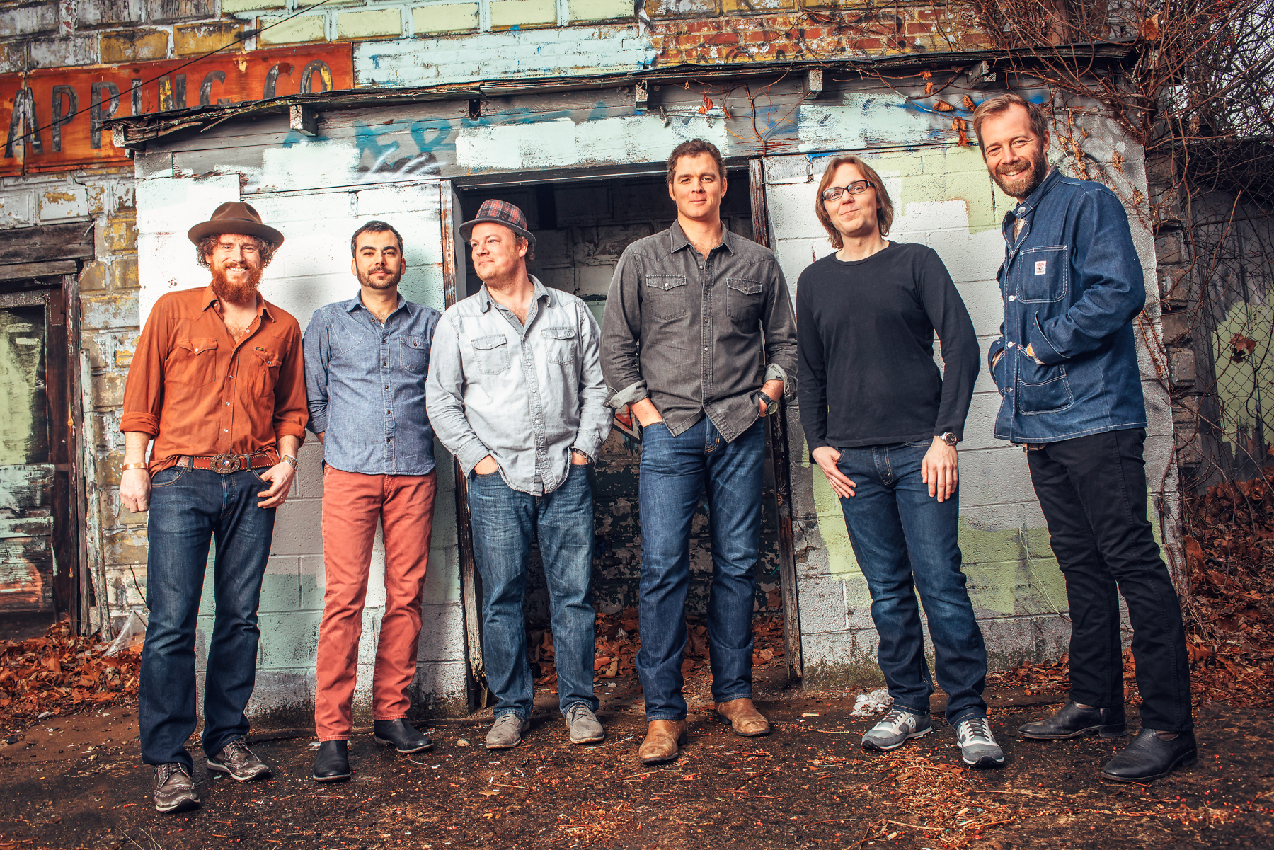 Caption: The Steep Canyon Rangers are one of the hottest bluegrass bands on the scene today, with an appeal that transcends generations and backgrounds.  This week, Across the Blue Ridge host Paul Brown interviews band member Graham Sharp and plays some of the ban, Credit: Steep Canyon Rangers