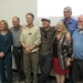 Caption: Fact and fiction Contact Conference all-stars.  Left to right: Carol Stoker, Michael Sims, Kim Stanley Robinson, Andy Weir, Penny Boston, Chris McKay and Larry Niven., Credit: Mat Kaplan