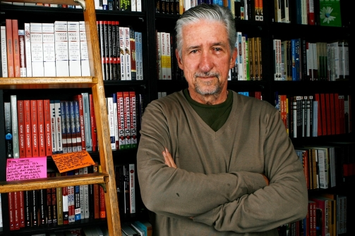 Caption: Tom Hayden
