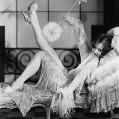 Caption: 1920s flapper