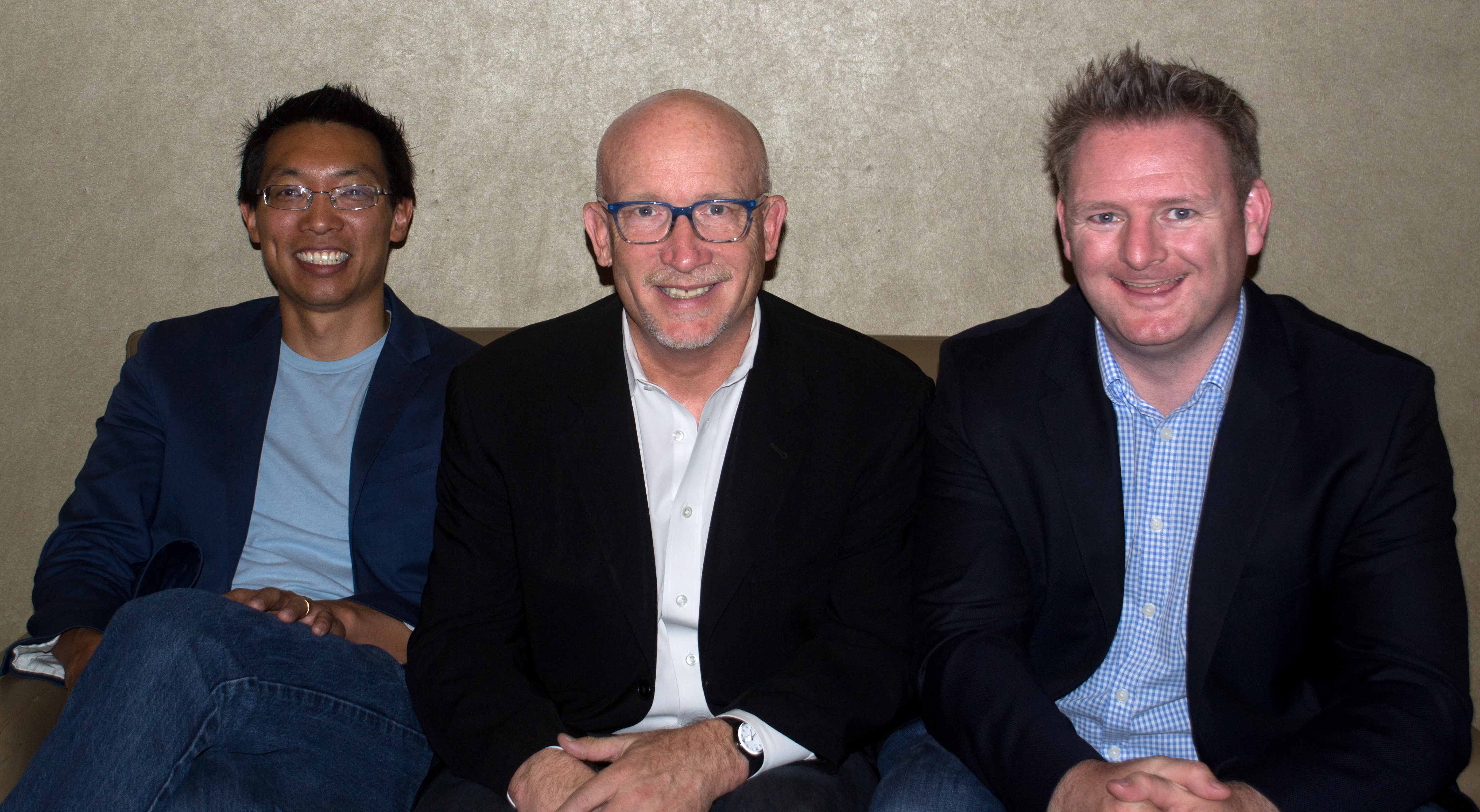 Caption: Eric Chien, Alex Gibney, Liam O'Murchu ,San Francisco, CA 5/11/16, Credit: Andrea Chase